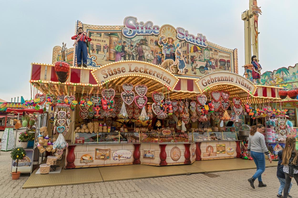 Süße Stadt: Schaustellerwagen aus dem Jahr 1999