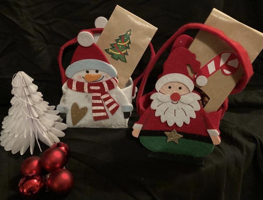 Weihnachtstütchen give a way